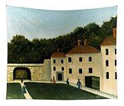 Rousseau:promenaders,c1907 Tapestry
