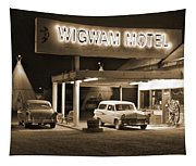 Route 66 - Wigwam Motel Tapestry