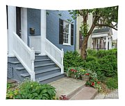 Row Of Historic Row Houses Tapestry