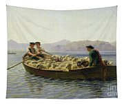 Rowing Boat Tapestry