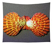 Royal Cloak Scallop Seashell  Tapestry