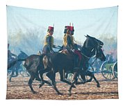 Royal Horse Artillery Painted Tapestry