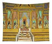 Royal Palace Ramayana 21 Tapestry