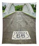 Rt. 66 Rainbow Bridge Tapestry