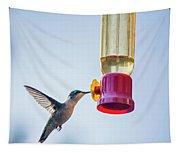 Ruby-throated Hummingbird 4 Tapestry