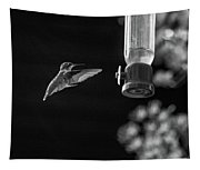 Ruby-throated Hummingbird Bw Tapestry