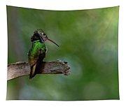 Ruffled Around The Neck Tapestry