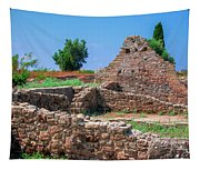 Ruins Of The Ancient City Of Side Tapestry