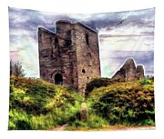 Ruins Of The Old Tin Mine Tapestry