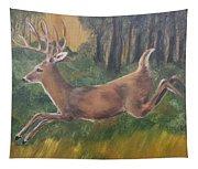Running Buck Tapestry