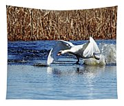 Running On Water I Tapestry