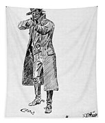 Russell: Stage Robber Tapestry