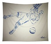 Russell Westbrook Tapestry