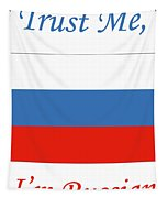 Russian Flag Tapestry