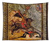 Russian Icon: Demetrius Tapestry