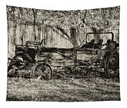 Rust Bucket Tapestry