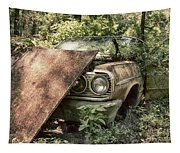 Rusted Beauty Tapestry