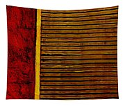 Rustic Abstract One Tapestry