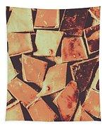 Rustic Choc Block Tapestry