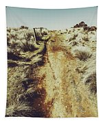 Rustic Country Trails Tapestry