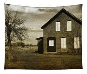 Rustic County Farm House Tapestry