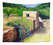 Rustic Landscape  Tapestry