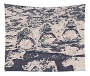 Rustic Nautical Artwork Tapestry
