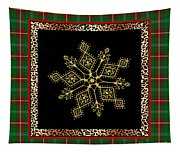 Rustic Snowflake-jp3696 Tapestry