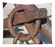 Rusty Anchor Chain Tapestry