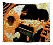 Rusty Gears Tapestry