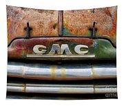 Rusty Gmc Truck Tapestry