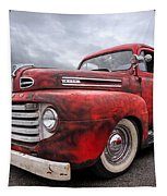 Rusty Jewel - 1948 Ford Tapestry by Gill Billington