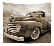 Rusty Jewel In Sepia - 1948 Ford Tapestry