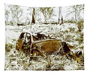 Rusty Old Holden Car Wreck  Tapestry