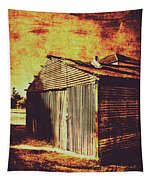 Rusty Outback Australia Shed Tapestry