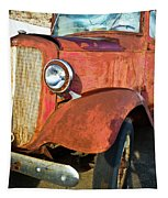 Rusty Red Chevrolet Pickup Truck 1934 Tapestry