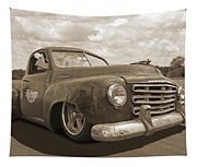 Rusty Studebaker In Sepia Tapestry