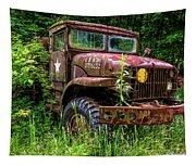 Rusty Warrior Tapestry