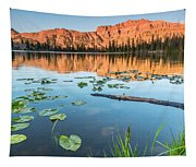 Ruth Lake Lilies Tapestry