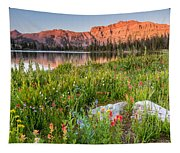 Ruth Lake Wild Flowers Tapestry