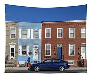 S Baltimore Row Homes - Wide Tapestry