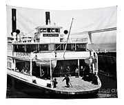 S. P. Ferry Alameda At San Francisco Circa 1940 Tapestry