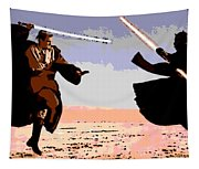 Saber Battle Tapestry