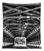 Sachs Bridge - Gettysburg - Bw-hdr Tapestry