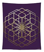 Sacred Geometry - Philosopher's Stone No. 5 Tapestry