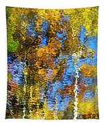 Safari Mosaic Abstract Art Tapestry
