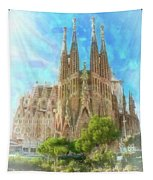 Sagrada Familia Tapestry