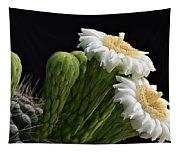 Saguaro Blooms  Tapestry