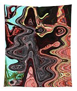 Saguaro Sore Abstract Tapestry