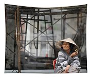 Saigon Lady Tapestry